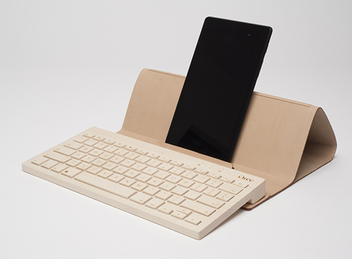 Orée Wireless Wood Keyboard