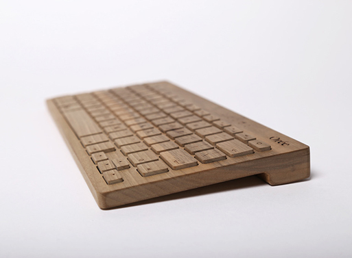 Orée Wireless Wood Keyboard