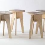 Plywood-print-stools-by-Piet-Hein-Eek