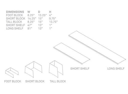 Shilf Dimensions