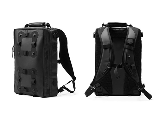 1e1fb76a3796 Black Ember Modular Urban Backpacks — Bags -- Better Living Through ...