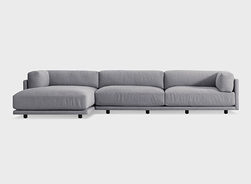 Sunday Sofa with Left Arm Chaise