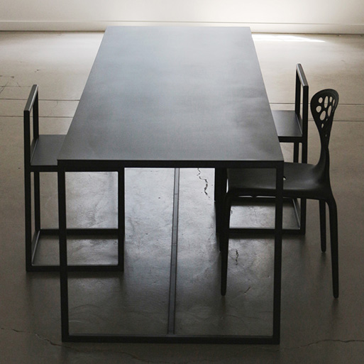Supermetal Table by Chiara Ferrari