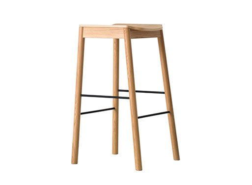Tangerine Barstool by Simon James for Resident Studio