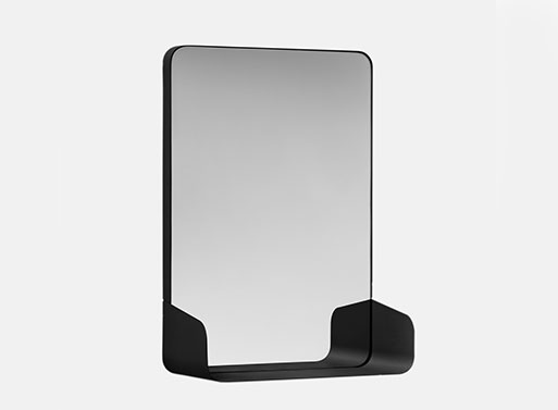 Magnetic Mirror Shelf by Yun Li