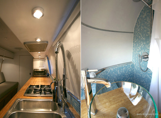 HofArc Airstream Renovation bath counter