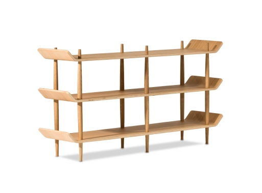 Bentwood White Oak Shelves