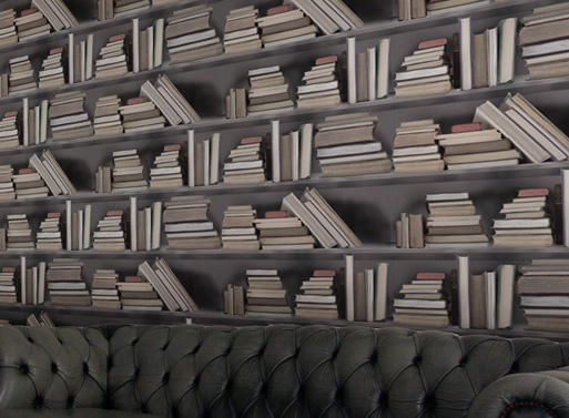 Bookshelf Wallpaper 2