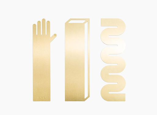 Brass Bookmarks