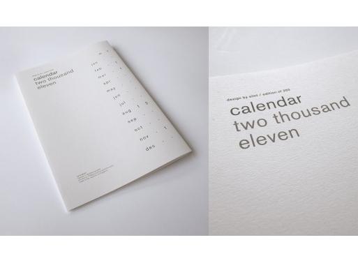 Calendar 2011 by SILNT