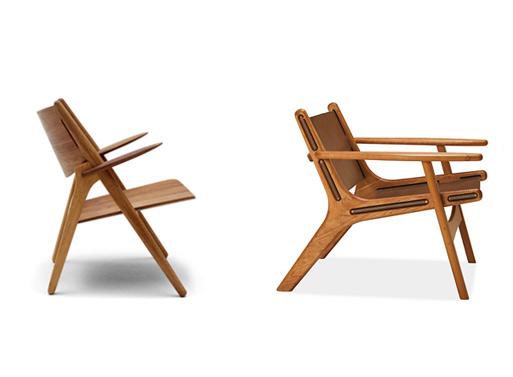 CH28 vs. Lars Lounge Chair