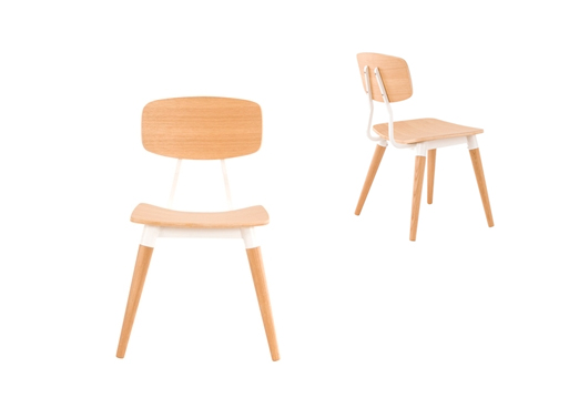 oak Copine Chair