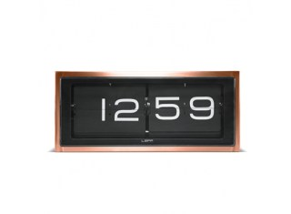 copper-flip-clock