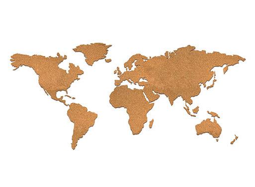 Cork Map Accessories Better Living Through Design