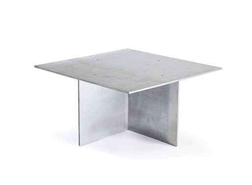 Anodised Coffee Table by Max Lamb