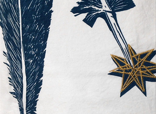 Feather Pillowcases by Kiki Smith