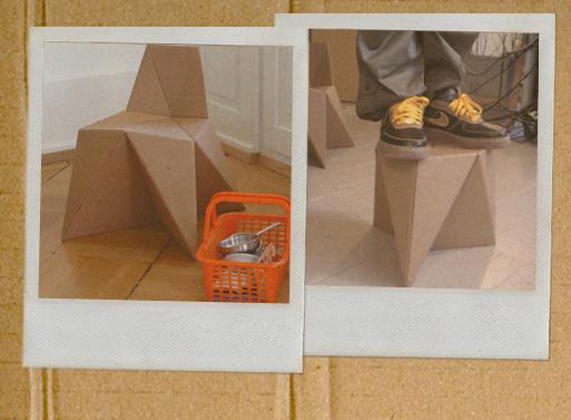 Foldschool diy cardboard furniture children 39 s furniture better living through design - Diy cardboard furniture design ...