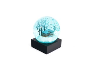 glass-house-Snow-Globe-Blue