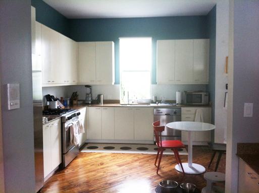 Katie's kitchen before