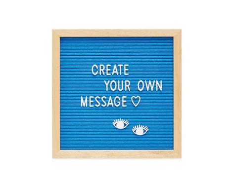 Letter Message Board