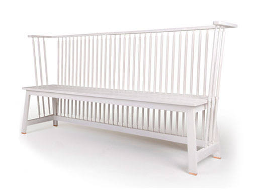 low settle bench