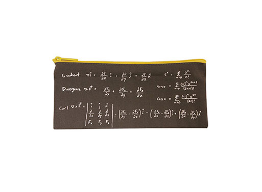 Math pencil case
