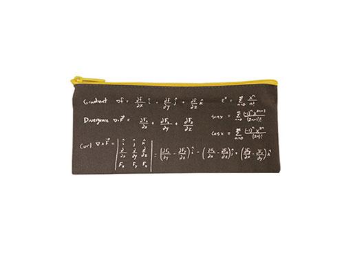 Math pencil case