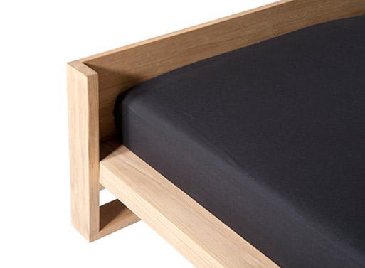 Oak Nordic Bed