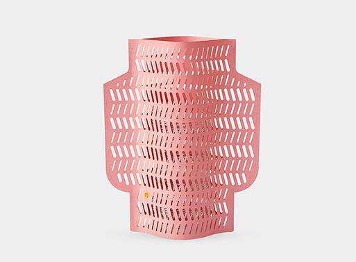 Paper Vase pink