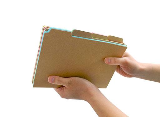 Tab Notebooks — ACCESSORIES -- Better Living Through Design
