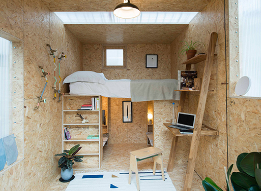 The SHED Project micro homes