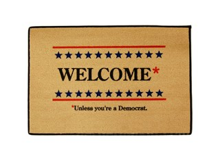 welcome-unless-democrat