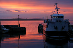 Orkney in the gloaming