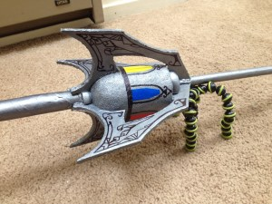 Finished sword closeup