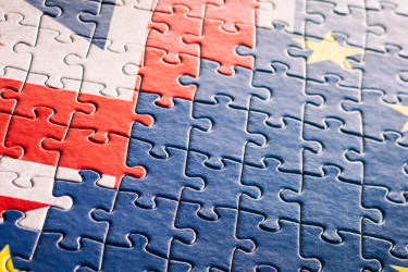 UK EU Flag Jigsaw Puzzle - XXXXL Backgrounds European Undion