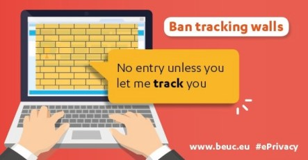 """No entry unless you let me track you.""- Ban tracking walls"