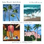 Sketchbook: Palm Beach Colors