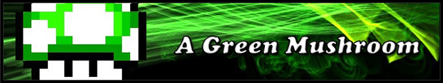 A Green Mushroom
