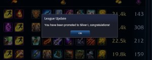 Promoted to Silver I
