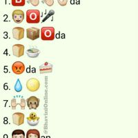 Whatsapp Puzzles: Guess Street Food Names From Emoticons and Smileys