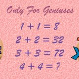 Find the Next Number in the Series: 4 + 4 = ?