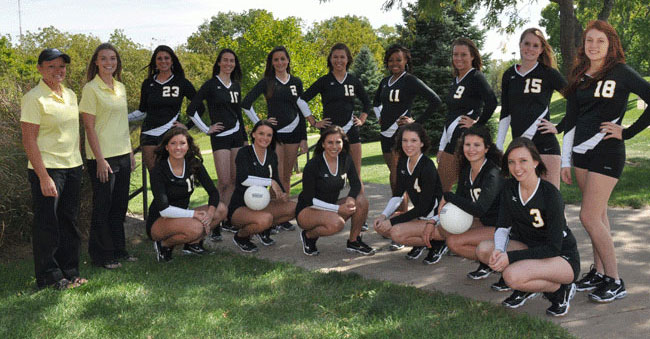 Braves Volleyball Team