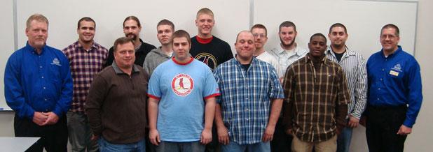 Welding Graduates April 7, 2011