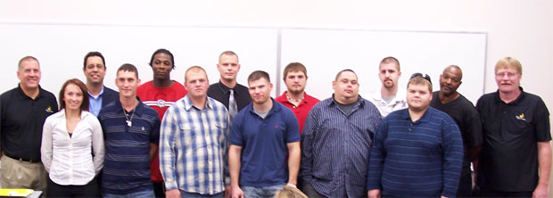 welding graduates on October 19, 2011