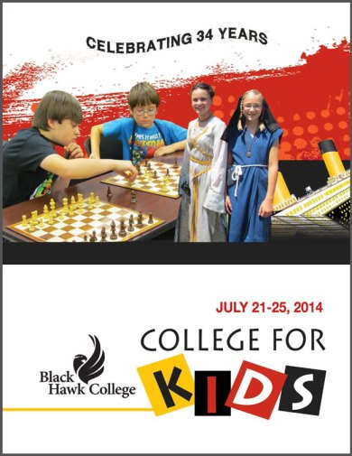 college for kids 2014