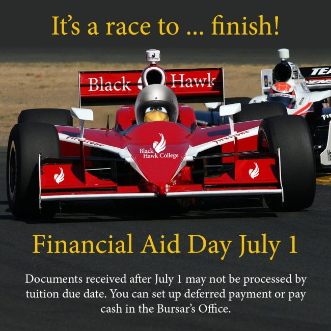 Finish Financial Aid day