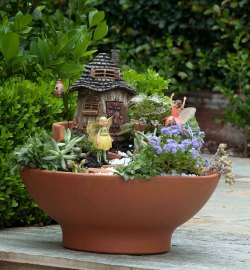 Upscale Gardens Kids Fairy Garden Kit How To Make A Layered Fairy Garden Better Homes