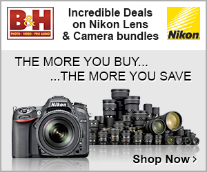 B&H Black Friday Nikon Sale