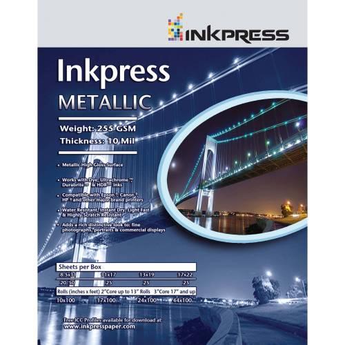 Medium Crop Of Metallic Photo Paper