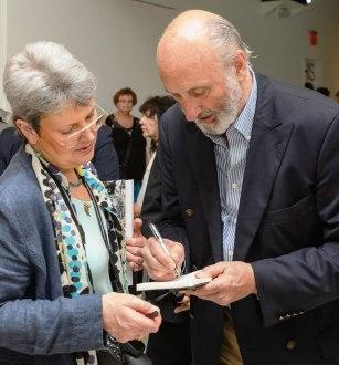 Liz Thomson and Noel Paul Stookey (Photo Filip Wolak - MCNY)